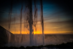Seljalandsfoss Sunset 9736